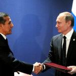 Ollanta Humala y Vladimir Putin firman convenio bilateral