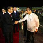 Ollanta Humala arriba a Filipinas para Cumbre de APEC