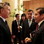 Presidente Humala saluda a mandatario electo de Argentina