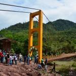 Junín: Entregan segundo puente carrozable sobre el río Perené