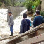 Pasco: Río desbordado inunda sembríos en Paucartambo