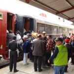 Junín: Prueban desempeño de tren turístico Huancayo-Jauja