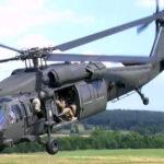 EEUU: Mueren cuatro militares al estrellarse un helicóptero