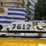 Uruguay: Taxistas protestan contra empresa transnacional Uber