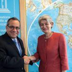 Directora de Unesco felicita al Perú por avances en reforma educativa