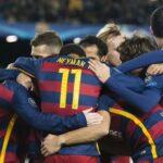 Barcelona golea 6-1 a Roma y avanza a octavos de Champions