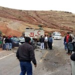 Urubamba: Tres personas mueren en accidente vehicular
