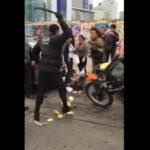 San Isidro: Fiscalizadores agreden brutalmente a motociclista