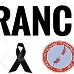 ANP condena barbarie terrorista y se hermana con Francia