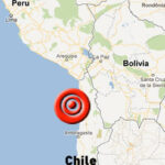 Chile: Sismo de 6,4 grados remeció la región norte en la tarde