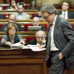 Parlamento de Cataluña rechaza de nuevo investidura de Artur Mas