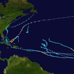Kate: Se forma undécima tormenta cerca del centro de las Bahamas