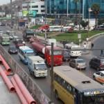 Carretera Central: Caída de puente peatonal genera gran congestión