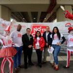 MIMP: Campaña 'No te calles' reparte cartillas contra feminicidio