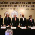 Cateriano inauguró reunión de ministros del Interior de la OEA