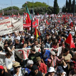 Portugal: Sindicatos defienden ante Cavaco Silva un gobierno socialista