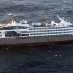 Las Malvinas: Rescatan a 347 pasajeros de crucero en llamas (VIDEO)
