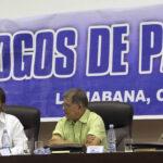 Cuba: Negociadores extienden plazo para avanzar acuerdo final de paz