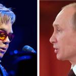 Inglaterra: Elton John hablará con Vladimir Putin sobre derechos gays