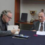 Profesor emérito de La Sorbona visita Universidad Bausate y Meza