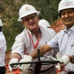 Bolivia: Evo Morales y Brufau anuncian récord de producción de gas