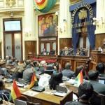 Bolivia: Congreso da luz verde a referendo reeleccionario