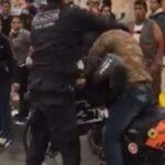 San Isidro: Motociclista agredido tiene el tabique desviado