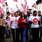 Verónika Mendoza: Frente Amplio enfrentará calentamiento global