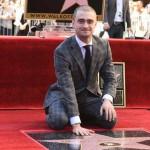 'Harry Potter' recibe estrella en el Paseo de la Fama