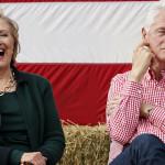 """Hillary Clinton dice que si compitiera contra su esposo """"le ganaría"""""""