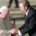 Efemérides del 19 de noviembre: histórica entrevista Juan Pablo II-Fidel Castro