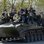 Ucrania: rebeldes de Donetsk completan repliegue de su armamento