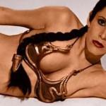 """Star Wars: Princesa Leia esclava se va """"borrando"""" en todos lados"""