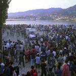 Lesbos con capacidad para acoger a 2,800 refugiados pero hay 16,000