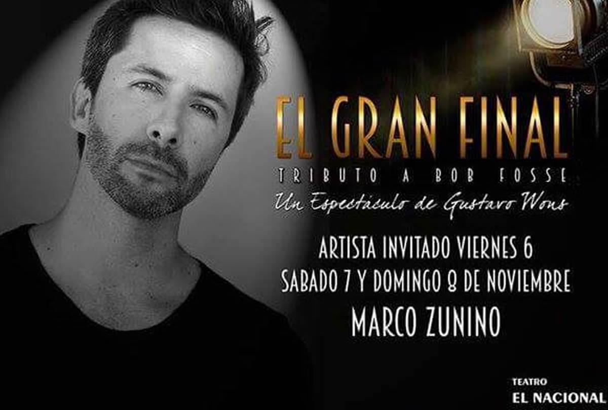 Marco Zunino aplaudido por musical en Argentina | Crónica Viva