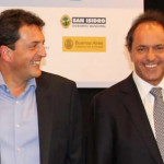 Elecciones Argentina: Scioli en busca de sus votos 'corteja' a Massa