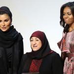 Michelle Obama reclama derecho de mujeres a la educación