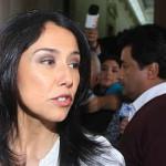 Nadine Heredia no asistirá a prueba grafotécnica de mañana