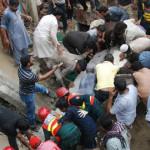 Pakistán: Derrumbe de fábrica deja 18 muertos y 40 heridos (VIDEO)