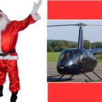 Brasil: Papá Noel 'postizo' roba helicóptero usando una pistola