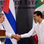 Raúl Castro culmina su visita de Estado a México