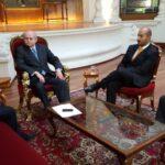 Pedro Cateriano se reunió con secretario general de la OEA