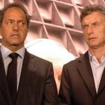 Argentina: Scioli y Macri discrepan por precio del dólar