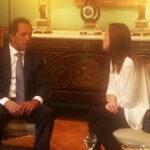 Scioli y gobernadora electa se reúnen para 'transición ordenada'