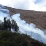 Áncash: 5,000 incendios forestales se registraron en los últimos tres años