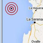 Sismo de 6,6 grados remeció el centro y norte de Chile