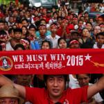 Birmania: Principal partido opositor cerca de mayoría absoluta