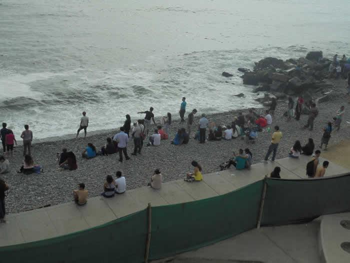Verano 2016: cientos llegaron hasta la Costa Verde pese a día nublado