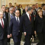 Cuatro líderes mundiales analizan elecciones en Donbass