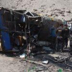 Arequipa: 7 muertos y 8 heridos graves por accidente de tránsito